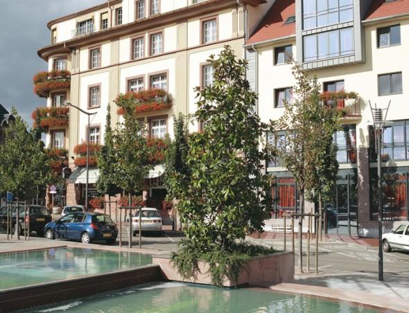 Grand Hôtel séminaire face gare Colmar