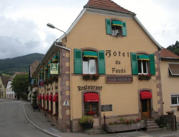 Salle de réunion Hôtel restaurant Le Faudé Lapoutroie