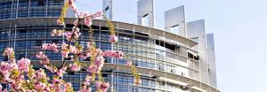 façade parlement européen