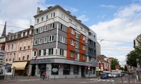 Hôtel Salvator Mulhouse Extérieur